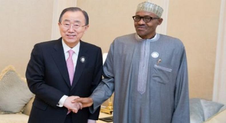 Buhari and the UN secretary general