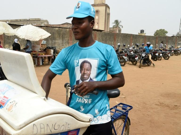 Supporter: Despite visible backing for Gnassingbe, Sokode is still a city in lockdown