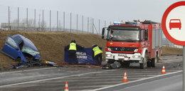 Tragiczny wypadek pod Rzeszowem. Nie żyje dwóch kierowców, dziecko jest ciężko ranne