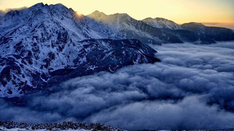 Tatry Zachodnie u progu zimy i widmo Brockenu