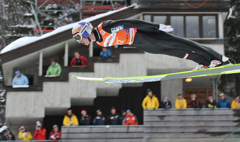 GERMANY SKI FLYING WORLD CUP