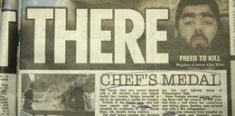 Brytyjskie gazety o bohaterstwie Łukasza. Wielki czyn kucharza