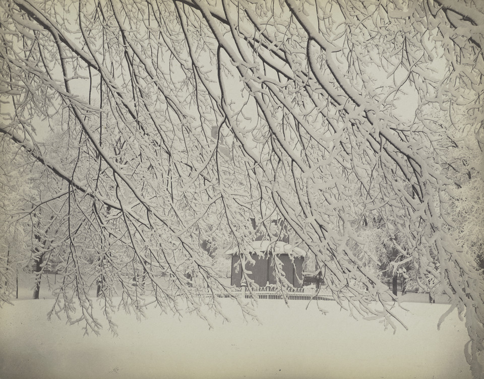 "Josiah Johnson Hawes, ""Winter on the Common"" (Boston, lata 50 XIX wieku)"