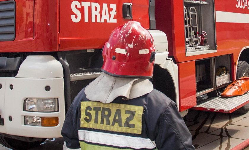 W pożarze mieszkania na gdańskim Przymorzu ranne zostały trzy osoby