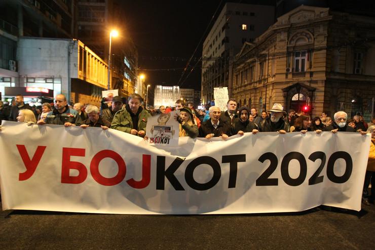 Protest, Građanski otpor, Subota 7. mart