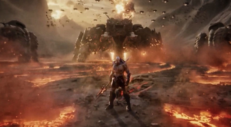 Zack Snyder Just Shared a First Look at Supervillain Darkseid in His Cut of Justice League