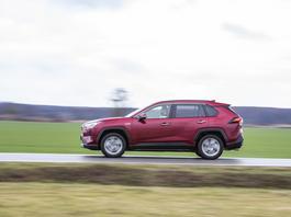Toyota RAV4 2.5 Hybrid – swoboda ruchu | TEST