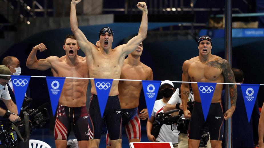 Rekord świata Amerykanów na 4x100 m st. zmiennym