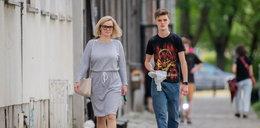 Monika Zamachowska z synem. Co ona na siebie włożyła?