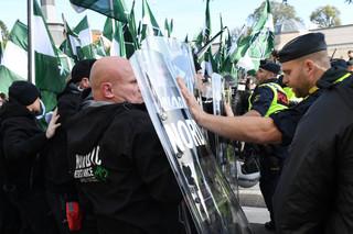 Szwecja: Policja przerwała marsz neonazistów w Goeteborgu