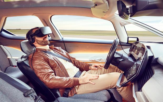 Renault Symbioz - pozycja fotela w trybie relaks