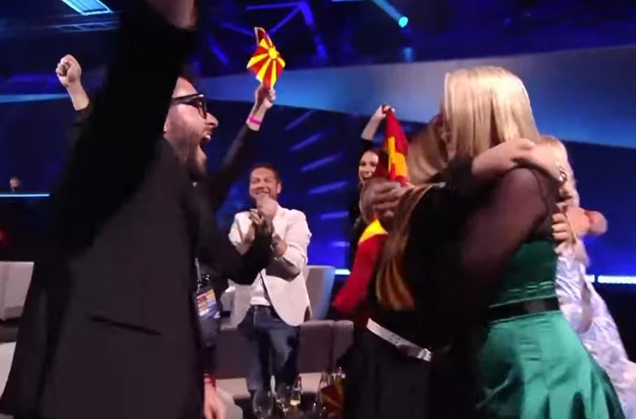 """Makedonija prošla u finale """"Evrovizije"""""""