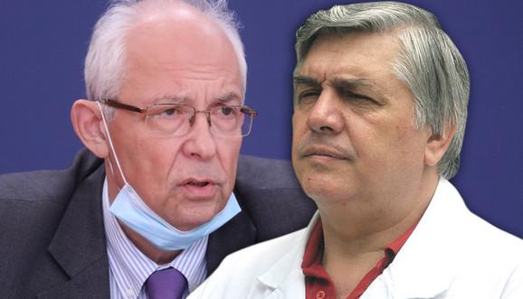 Dr Predrag Kon i dr Branislav Tiodorović