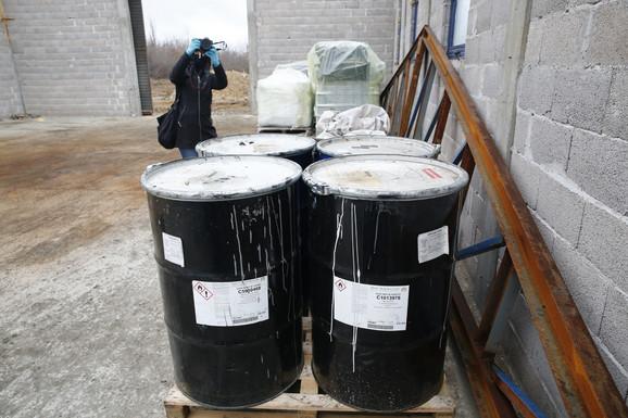 Toksični otpad nađen u Obrenovcu