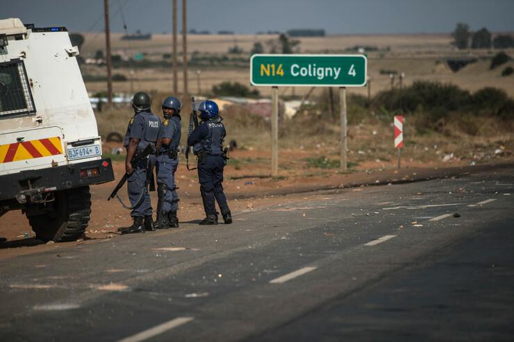 juznoafricka policija