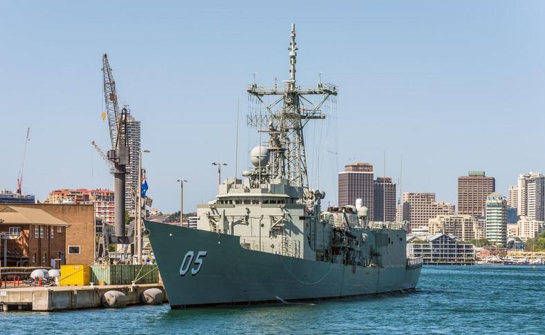 Australijska fregata typu Adelaide