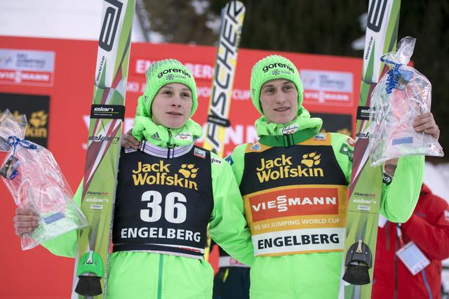 Braća Domen i Peter Prevc