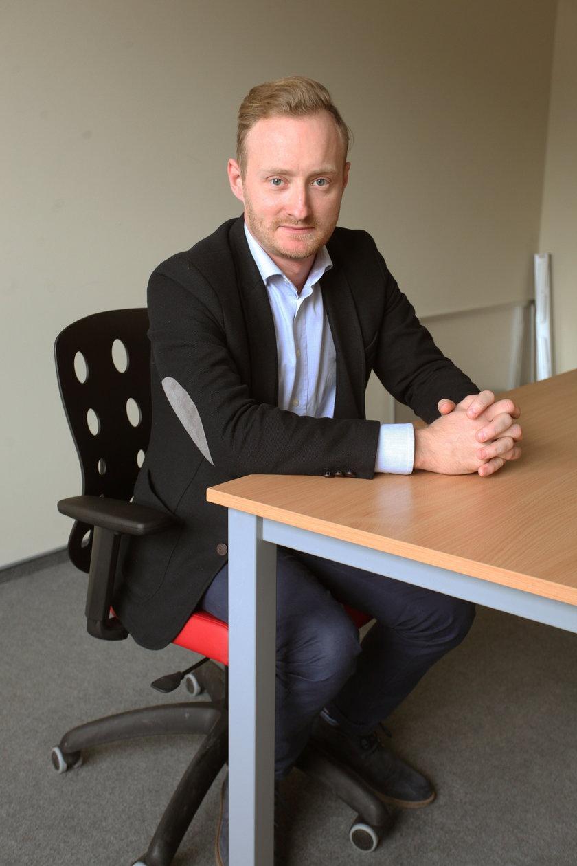 Piotr Szelag, dyrektor szkoły w Kokoszkach