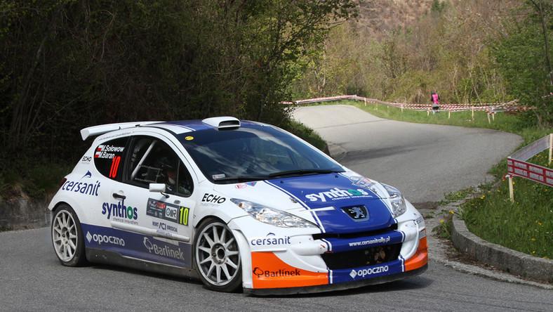 Michał Sołowow i Maciej Baran (Peugeot 207 S2000) zajęli 14 miejsce w klasyfikacji generalnej 36. Rajdu Mille Miglia - drugiej rundy tegorocznych Mistrzostw Europy