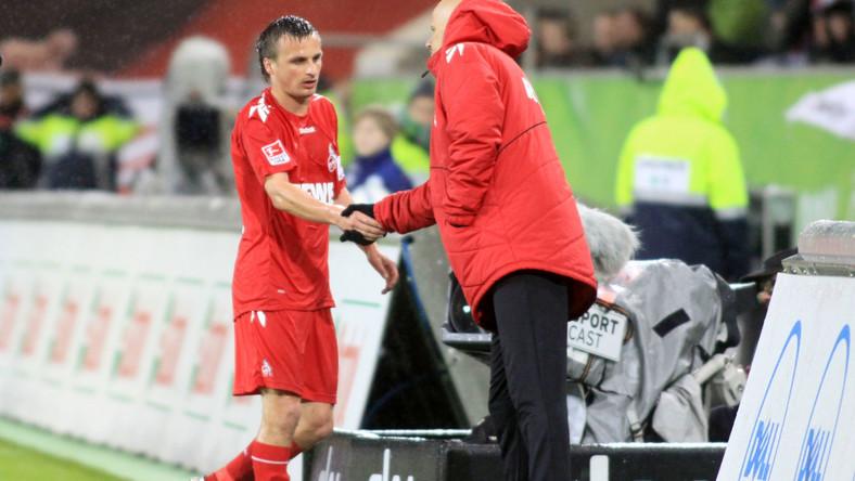 Trener FC Koeln poda rękę Polakowi