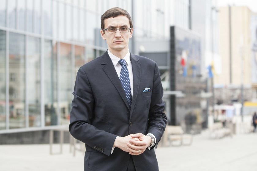Maciej Stachura (35 l.), rzecznik UM Katowice