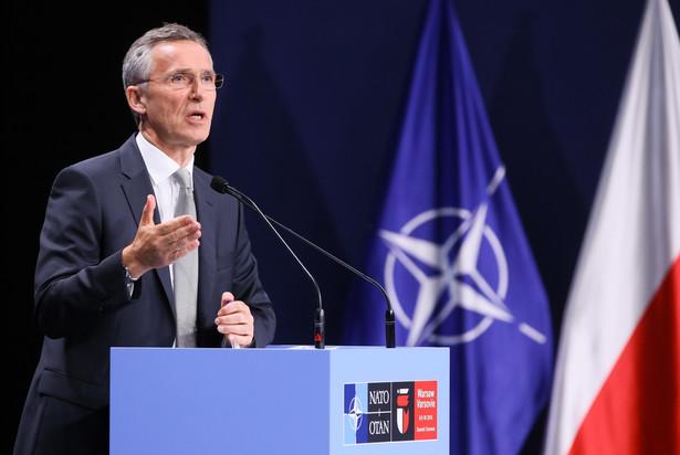 Sekretarz generalny Sojuszu Północnoatlantyckiego Jens Stoltenberg, PAP/Paweł Supernak