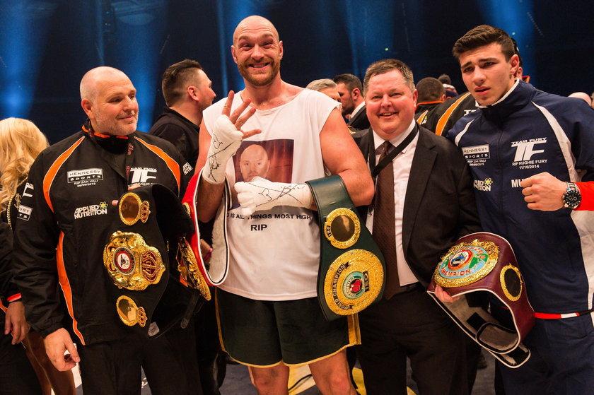 Tyson Fury oskarżony o doping. Mistrz świata nie przyznaje siędo winy
