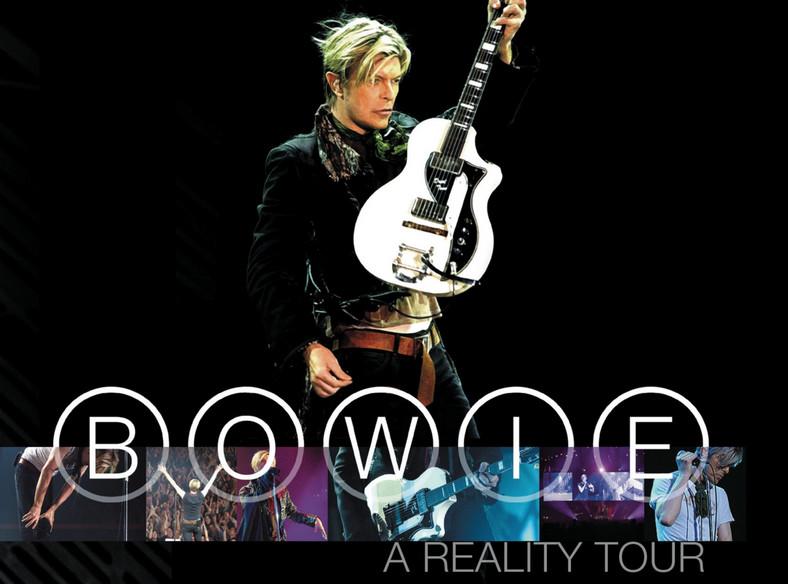"""Podwójny Bowie z przebojami. """"A Reality Tour"""" wyśmienita koncertówka giganta popu"""