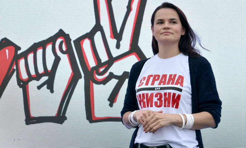 Cichanouska szuka w Polsce sojusznika