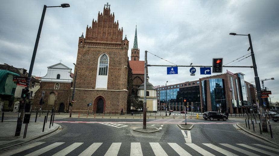 Kosciół i Klasztor pw św Wojciecha Siedziba dominikanów we Wrocławiu