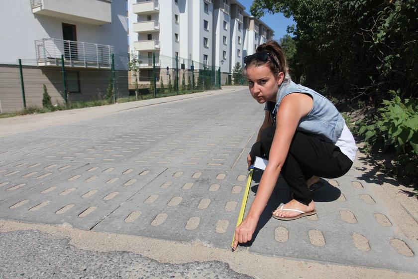 Mierzymy długość wyremontowanej ulicy