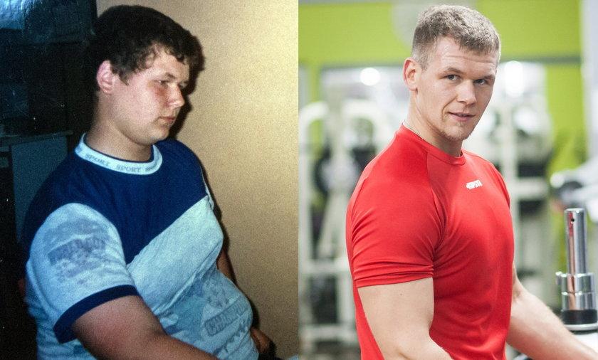 Schudł 50 kg w pół roku