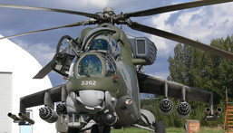 A fighter Mi-35 chopper (Pinterest)