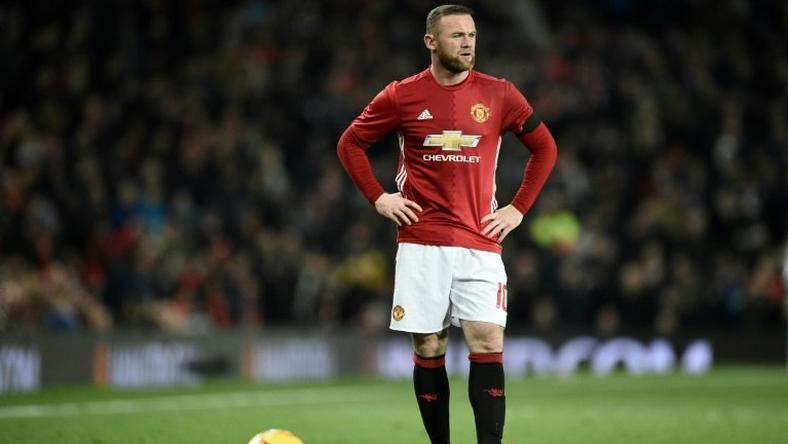 Manchester United's English striker Wayne Rooney needs one more goal to equal Bobby Charlton's United record of 249 goals