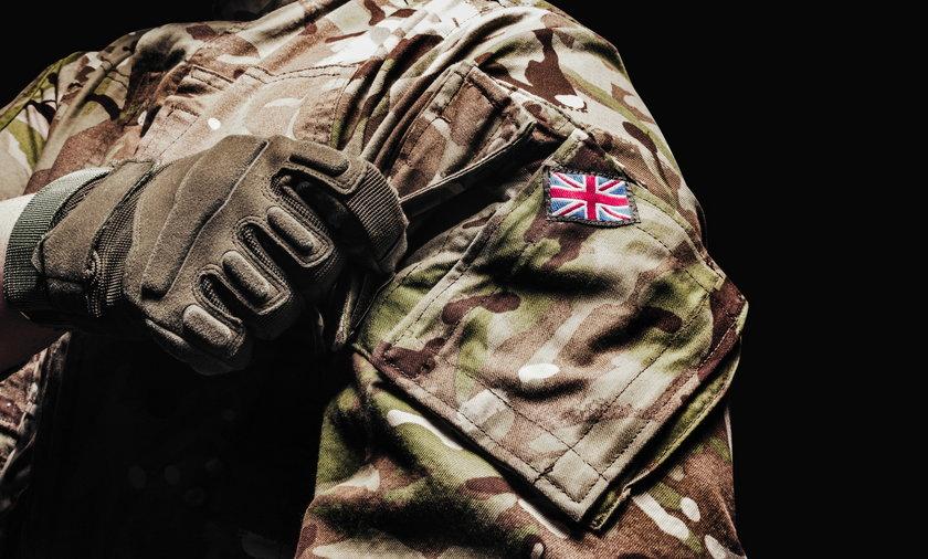 Jeden z brytyjskich żołnierzy okazał się zwyrodnialcem.