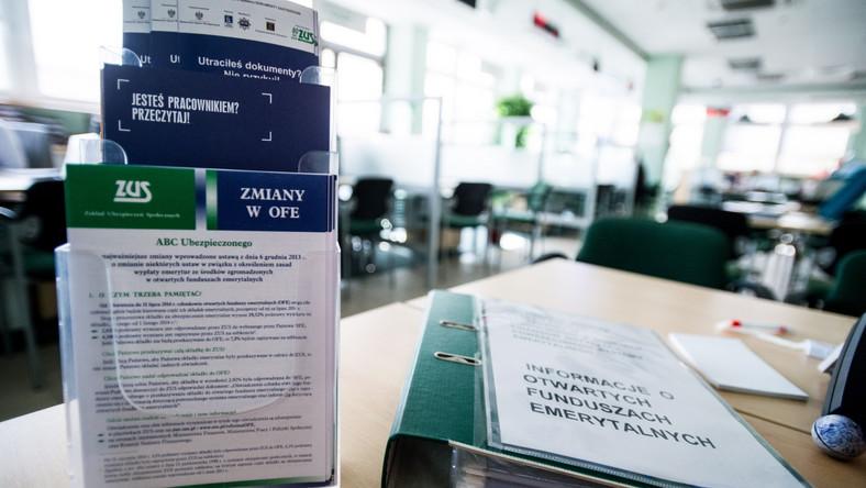 OFE kontra ZUS? NEWS DZIENNIK.PL: Pierwszego dnia deklaracje złożyło 1,6 tys. osób