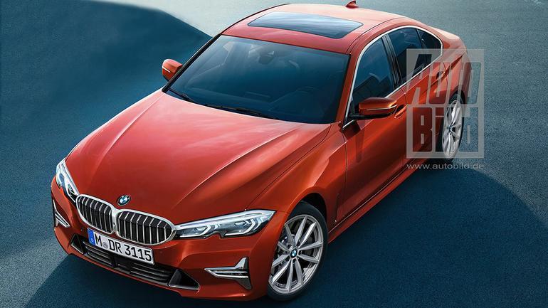 Nowe BMW serii 3 - wizualizacja