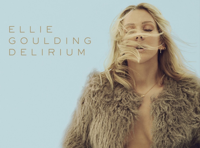 "Ellie Goulding na okładce albumu ""Delirium"""