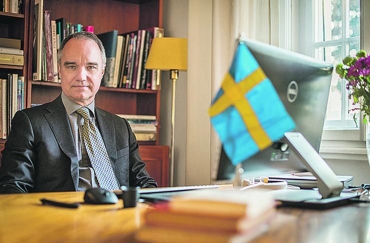 Ambasador Svedske Jan Lundin