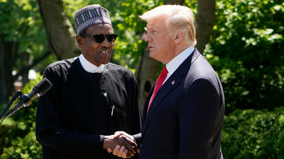Trump congratulates Buhari for suspending Twitter in Nigeria...to no one's surprise