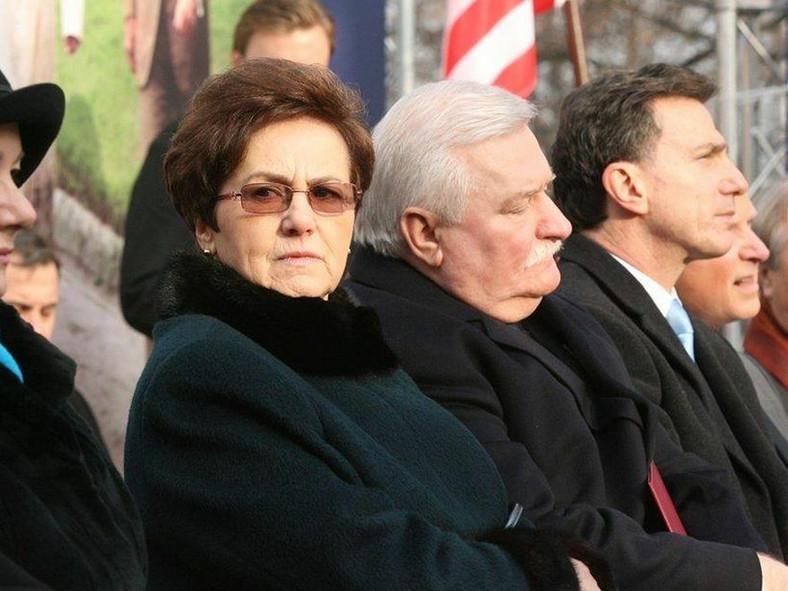 Danuta i Lech Wałęsowie. Fot. Tomasz Ozdoba