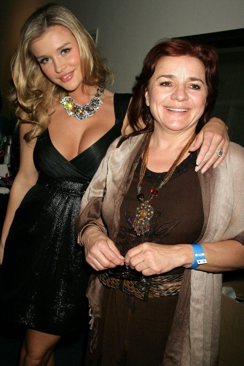 Joanna Krupa z mamą