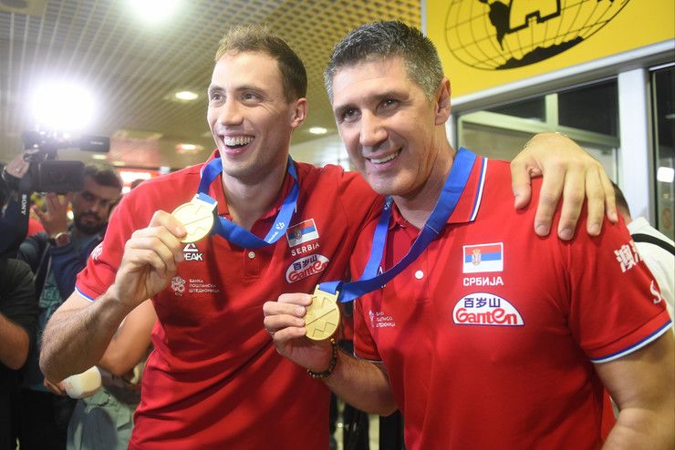 Selektor Kovač i Aleksandar Atanasijević sa zlatnim medaljama sa EP u Francuskoj