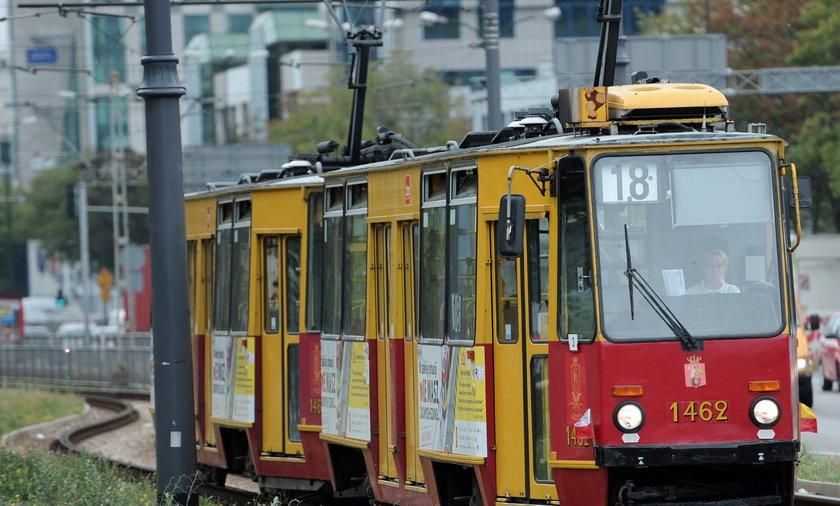 Flagi na tramwajach