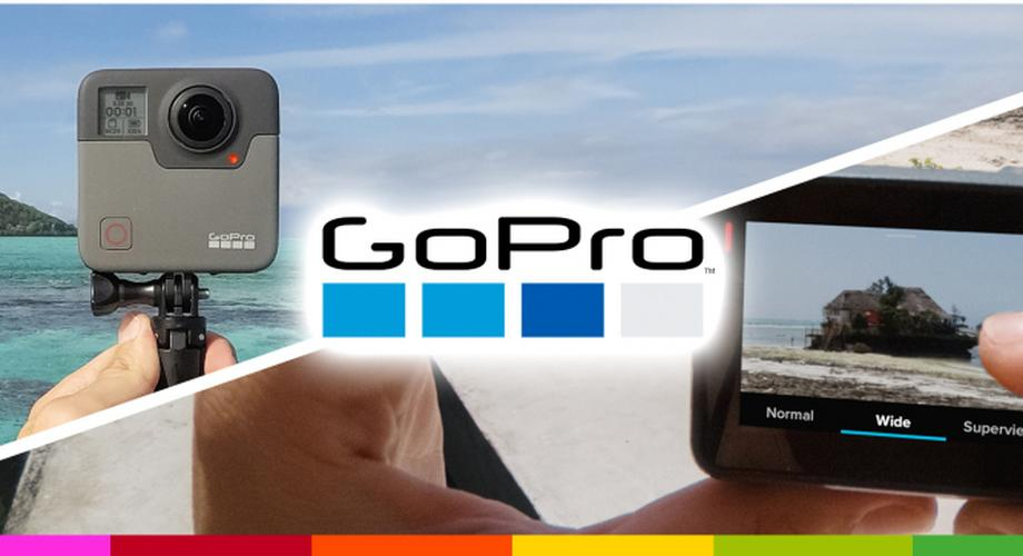 GoPro zeigt Hero6 Black und 360-Kamera GoPro Fusion