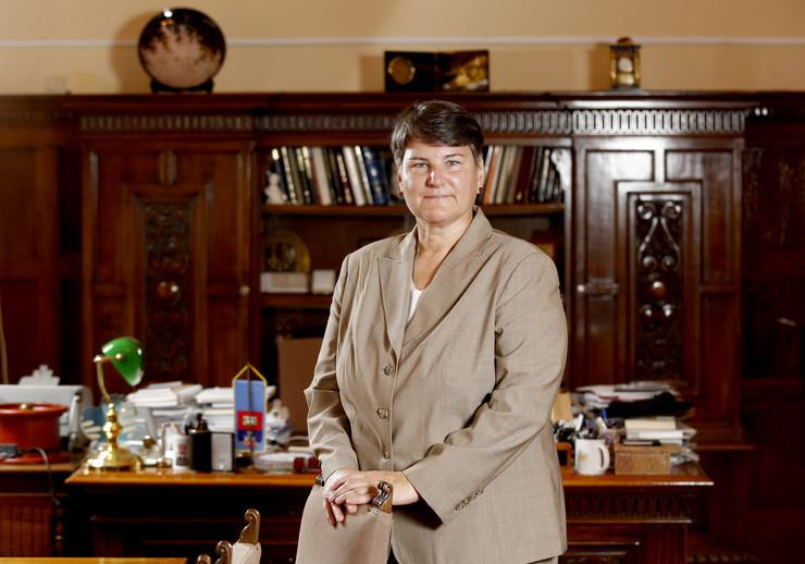 Ivanka Popović, rektorka Univerziteta