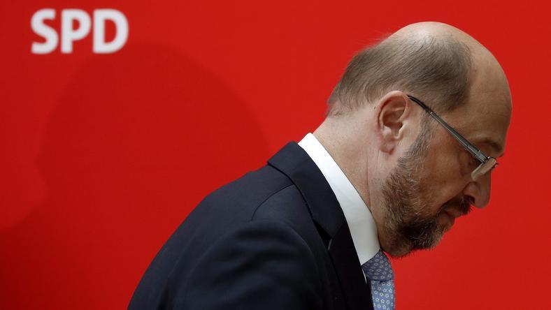 Przegrana SPD to dotkliwy cios dla Schulza