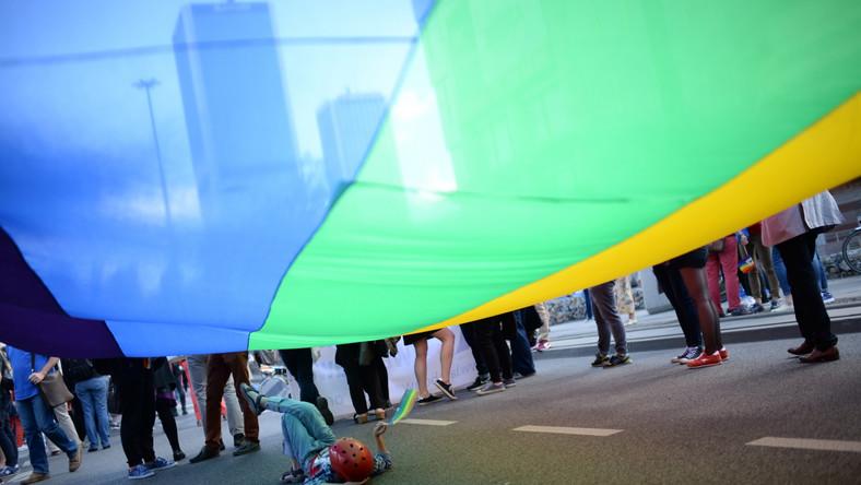 Uczestnicy parady przebrali się m.in. w karnawałowe stroje. Przynieśli chorągiewki w barwach unijnych, biało-czerwone i tęczowe, a także z logami partii politycznych i inicjatyw obywatelskich. Obecni są członkowie i sympatycy partii Zieloni, SLD, Nowoczesna i Razem.