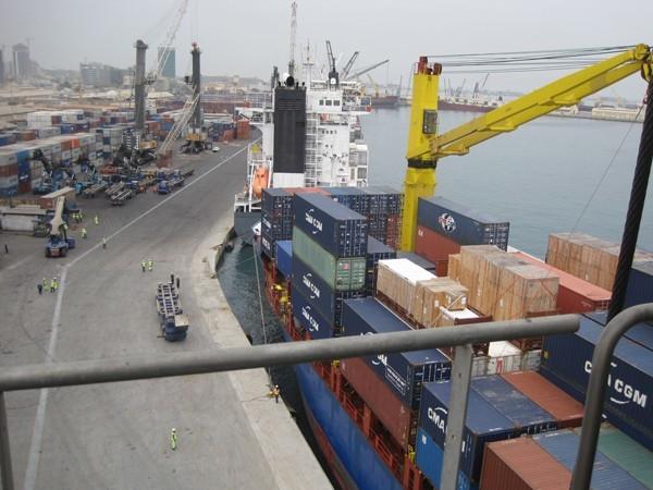 Luanda Container Terminal Angola, image courtesy APM Terminals