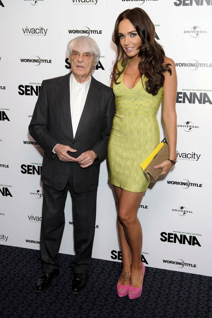Tamara Eklston s ocem Barnijem